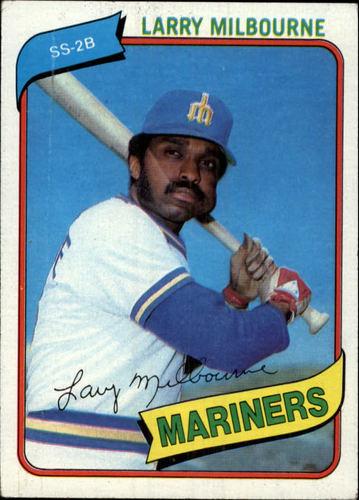 Photo of 1980 Topps #422 Larry Milbourne