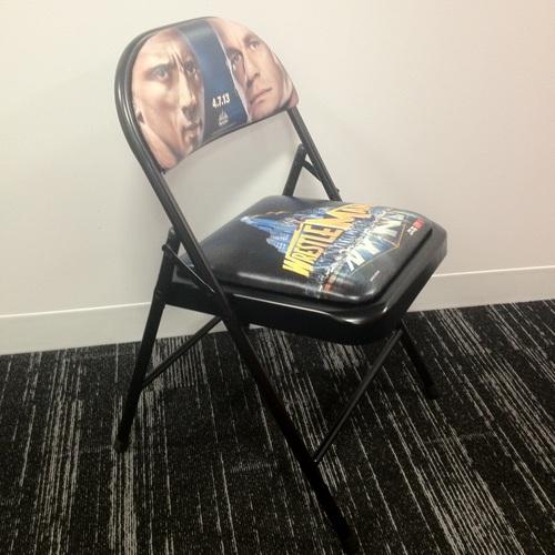 WrestleMania 29 Event Chair