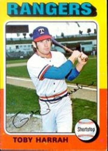 Photo of 1975 Topps #131 Toby Harrah
