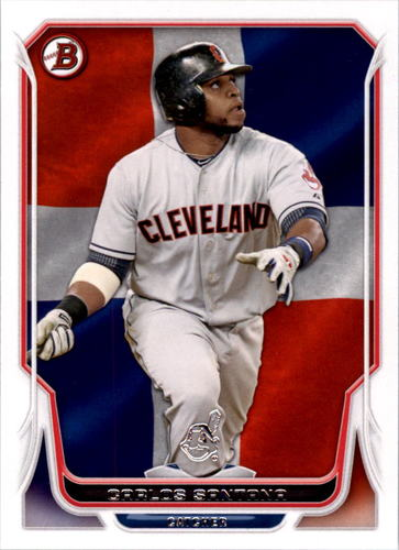 Photo of 2014 Bowman Hometown #197 Carlos Santana