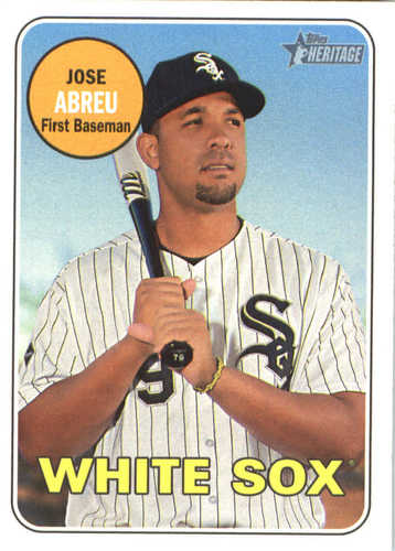 Photo of 2018 Topps Heritage #97 Jose Abreu
