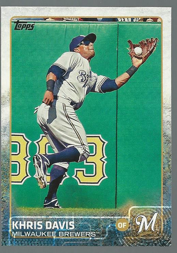 Photo of 2015 Topps #115 Khris Davis