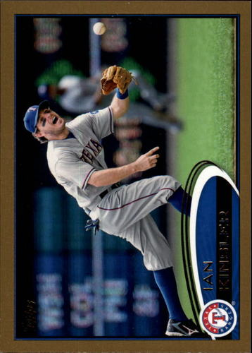 Photo of 2012 Topps Gold #550 Ian Kinsler