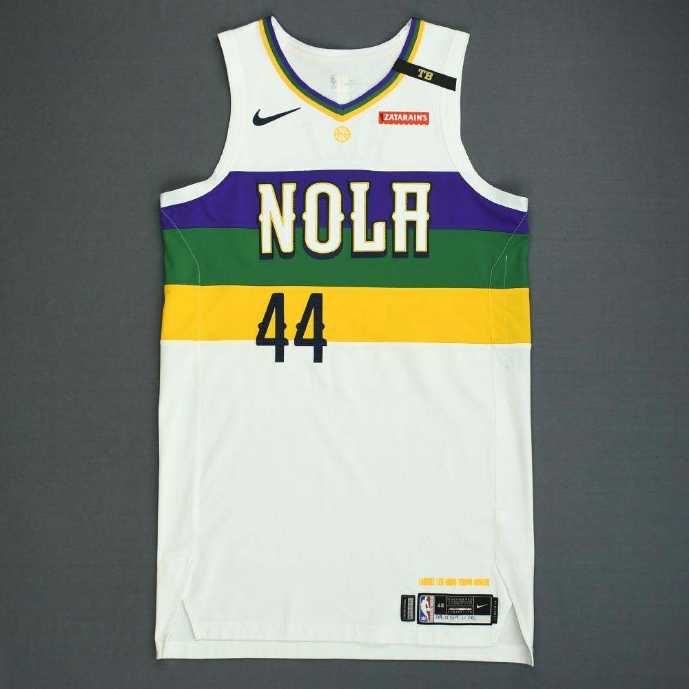 Solomon Hill - New Orleans Pelicans - Game-Worn City Edition Jersey - Dressed, Did Not Play - 2018-19 Season