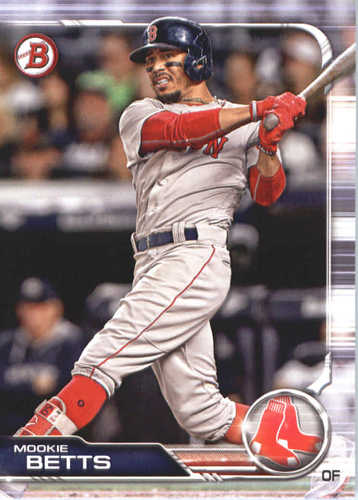 Photo of 2019 Bowman #50 Mookie Betts