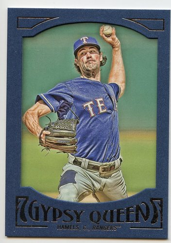 Photo of 2016 Topps Gypsy Queen Framed Blue #26 Cole Hamels