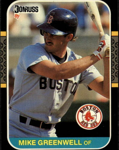 Photo of 1987 Donruss #585 Mike Greenwell RC