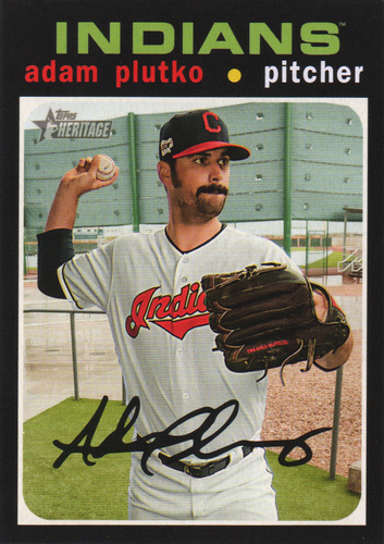 Photo of 2020 Topps Heritage #148 Adam Plutko