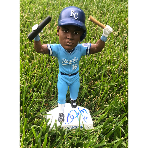 Photo of Royals Respond Charity Auction: Bo Jackson Autographed Bobblehead
