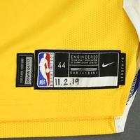 Jordan Poole - Golden State Warriors - Game-Worn Statement Edition Jersey - 2019-20 NBA Season