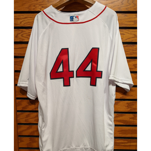 Photo of Brandon Workman #44 Team Issued Home White Jersey