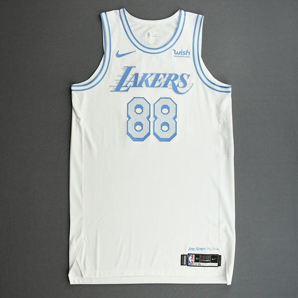 Image of Markieff Morris - Los Angeles Lakers - Christmas Day' 20 - Game-Worn City Edition Jersey