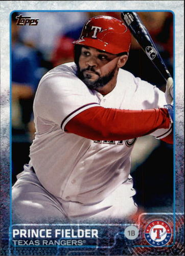 Photo of 2015 Topps #422 Prince Fielder