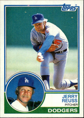 Photo of 1983 Topps #90 Jerry Reuss