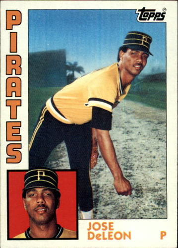 Photo of 1984 Topps #581 Jose DeLeon RC
