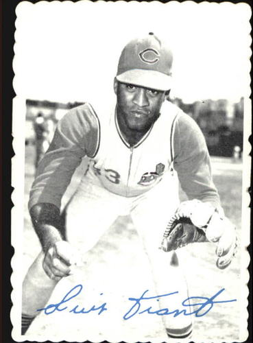 Photo of 1969 Topps Deckle Edge #7 Luis Tiant