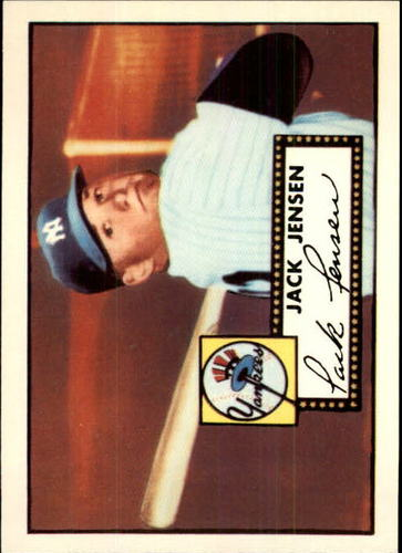 Photo of 1983 Topps 1952 Reprint #122 Jackie Jensen