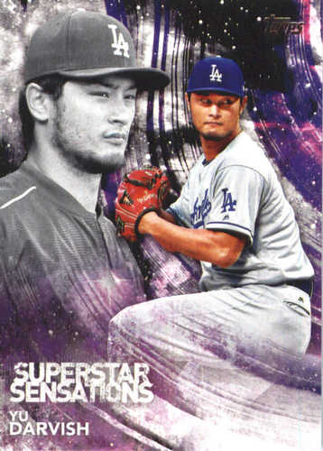 Photo of 2018 Topps Superstar Sensations #SSS11 Yu Darvish
