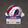 Bills - Kevon Seymour signed Bills mini helmet