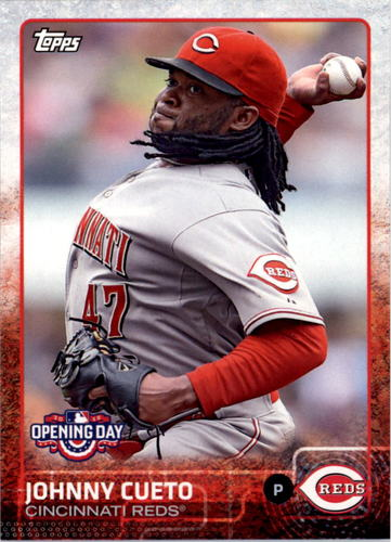 Photo of 2015 Topps Opening Day #38A Johnny Cueto