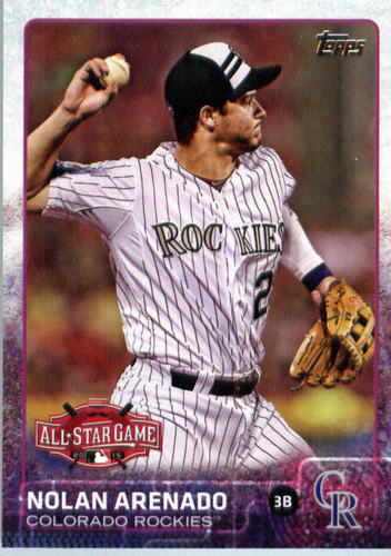Photo of 2015 Topps Update #US358 Nolan Arenado