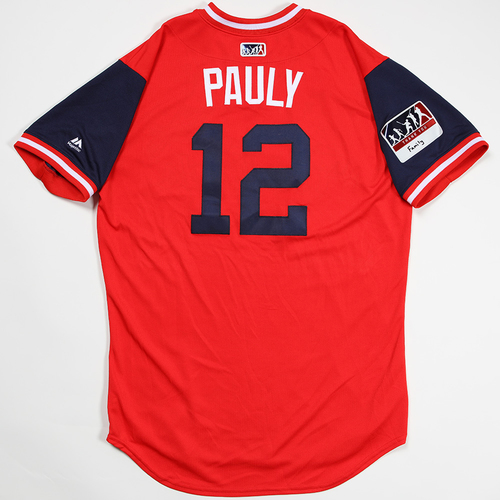 "Photo of Paul ""Pauly"" DeJong St. Louis Cardinals Game-Used 2018 Players' Weekend Jersey"