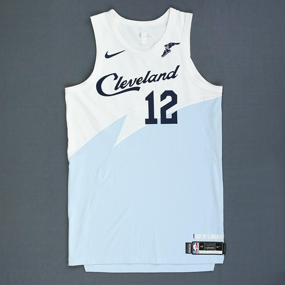 b2374515073 David Nwaba - Cleveland Cavaliers - Game-Worn Earned City Edition Jersey -  2018-