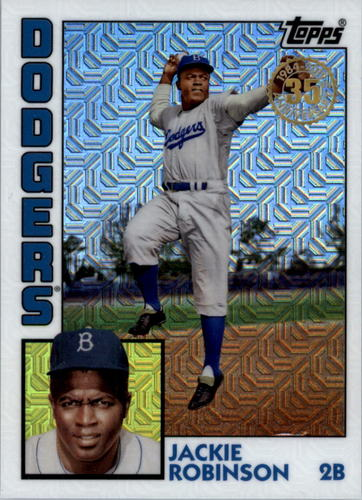 Photo of 2019 Topps '84 Topps Silver Pack Chrome #T846 Jackie Robinson