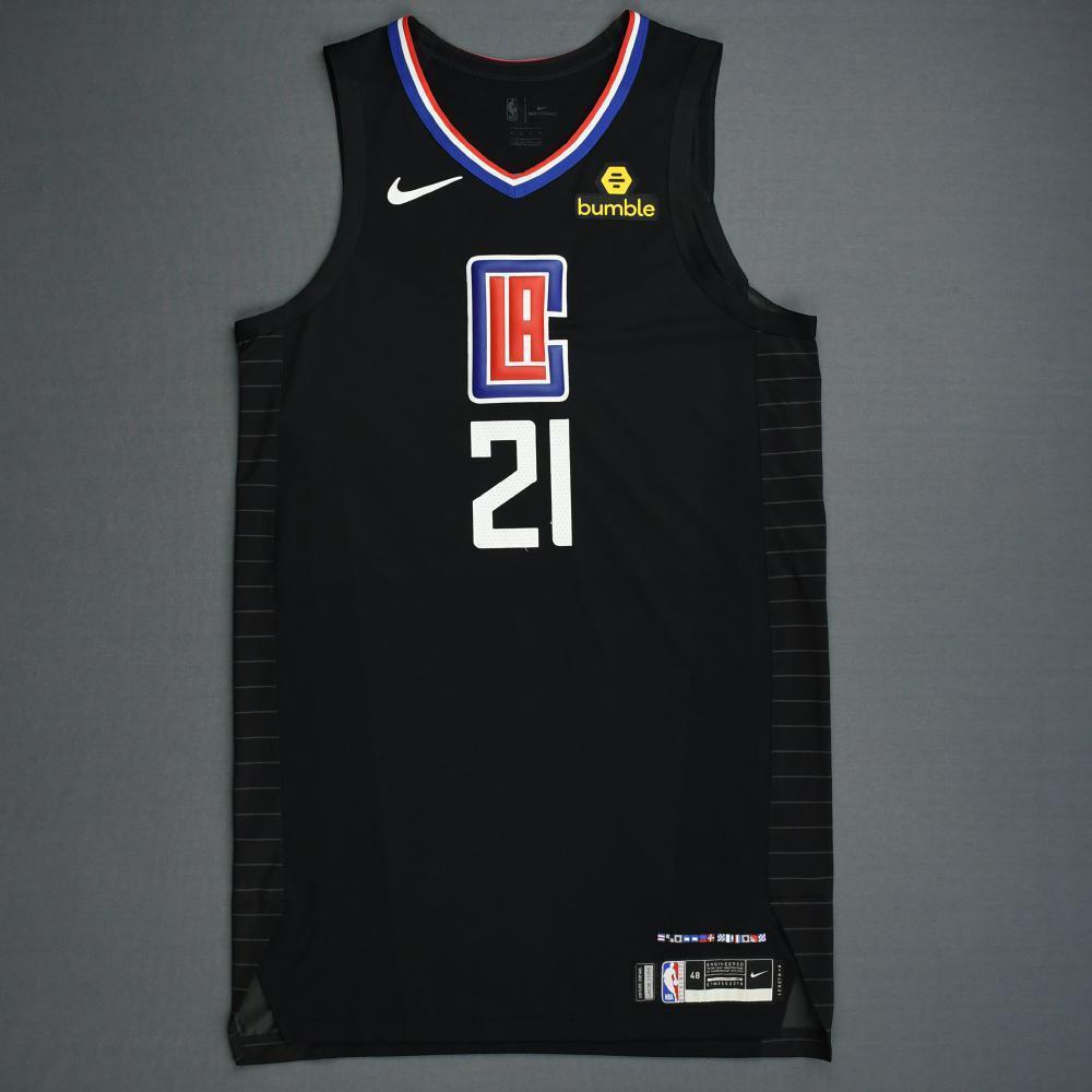 Patrick Beverley - Los Angeles Clippers - 2019 NBA Playoffs - Game-Worn 2nd Half Black Statement Edition Jersey