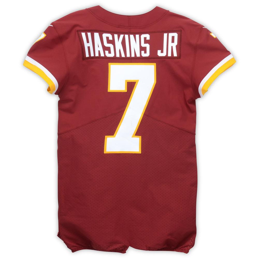new concept 4c1ea 579e2 Dwayne Haskins Washington Redskins Event-Worn 2019 NFLPA ...