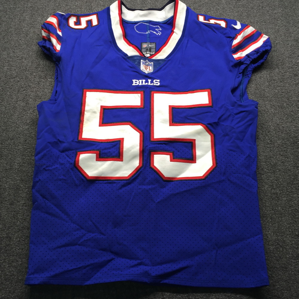 hot sale online 25a0c 94126 NFL Auction | STS - Bills Jerry Hughes Game Used Authentic ...