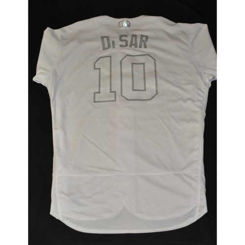 "Photo of Gary ""DiSAR"" DiSarcina New York Mets Game-Used 2019 Players' Weekend Jersey"