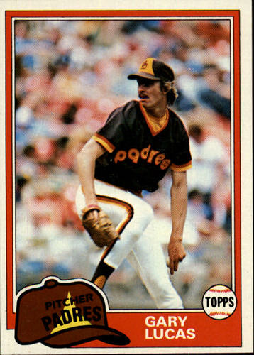 Photo of 1981 Topps #436 Gary Lucas RC