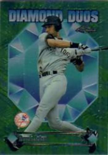 Photo of 1997 Topps Chrome Diamond Duos #DD2 Derek Jeter/Bernie Williams