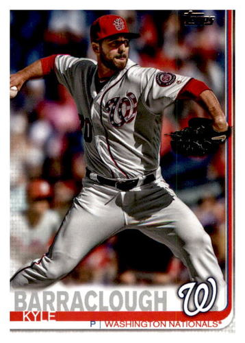 Photo of 2019 Topps Update #US60 Kyle Barraclough