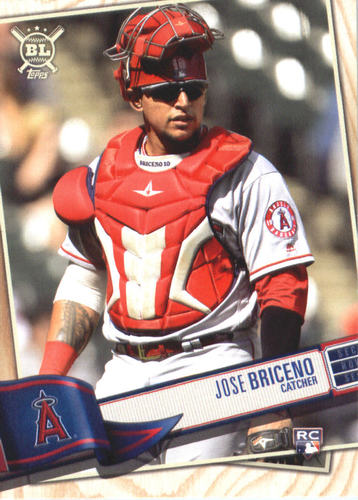 Photo of 2019 Topps Big League #70 Jose Briceno RC