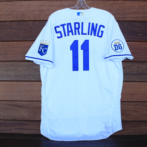 Photo of Game-Used 2020 Los Reales Jersey: Bubba Starling #11 (PIT @ KC 9/12/20) - Size 48