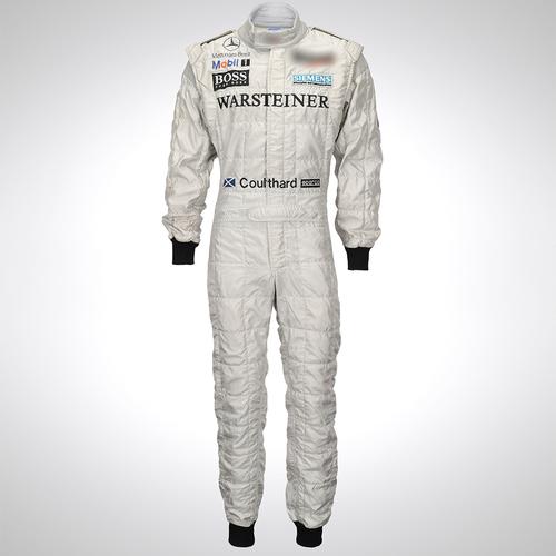 Photo of David Coulthard 2001 Race Spec Race Suit