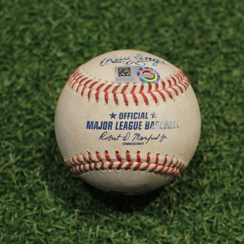 Photo of Game-Used Baseball: Jose Rondon 68th Career Hit (STL@KC 8/13/21)