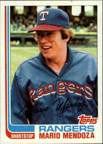 Photo of 1982 Topps #212 Mario Mendoza