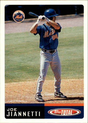 Photo of 2002 Topps Total #284 Joe Jiannetti RC