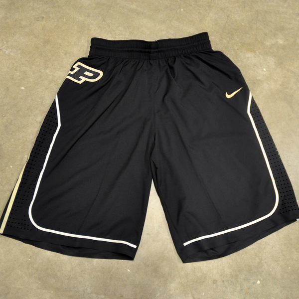 Photo of Black Nike Men's Basketball Official Game Shorts // Size 40