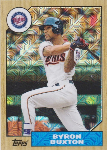 Photo of 2017 Topps '87 Topps Silver Pack Chrome #87BB Byron Buxton