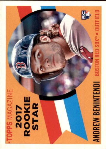 Photo of 2017 Topps Archives '60 Rookie Stars #RS3 Andrew Benintendi