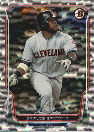 Photo of 2014 Bowman Silver Ice #197 Carlos Santana