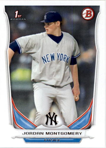 Photo of 2014 Bowman Draft #DP114 Jordan Montgomery