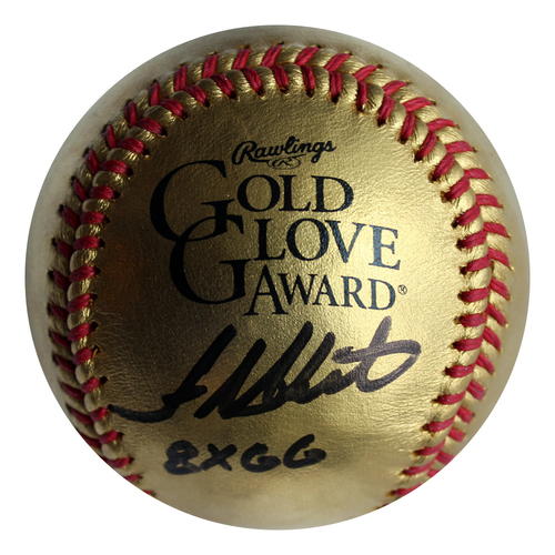 Photo of Autographed Baseball: Frank White 8X Gold Glove