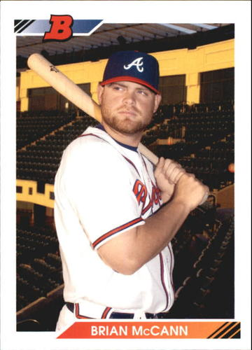 Photo of 2010 Bowman 1992 Bowman Throwbacks #BT87 Brian McCann