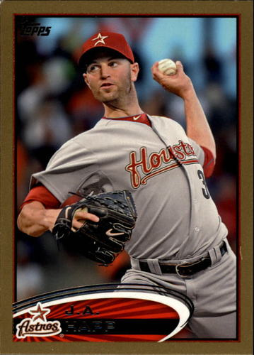Photo of 2012 Topps Gold #560 J.A. Happ