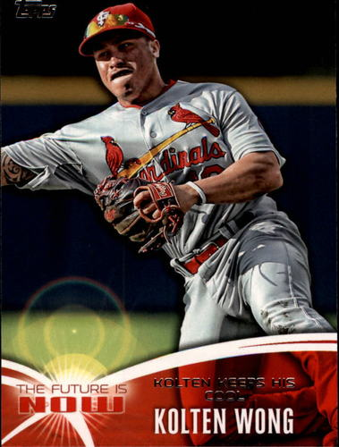 Photo of 2014 Topps The Future is Now #FN39 Kolten Wong